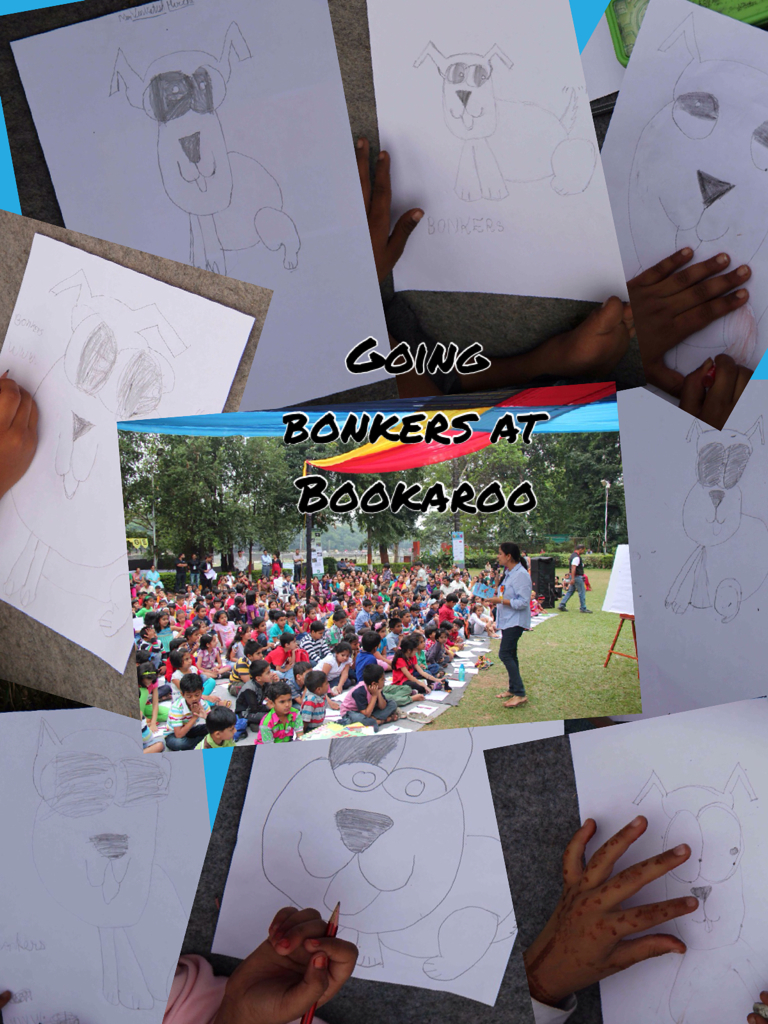 Bonkers at Bookaroo 2013