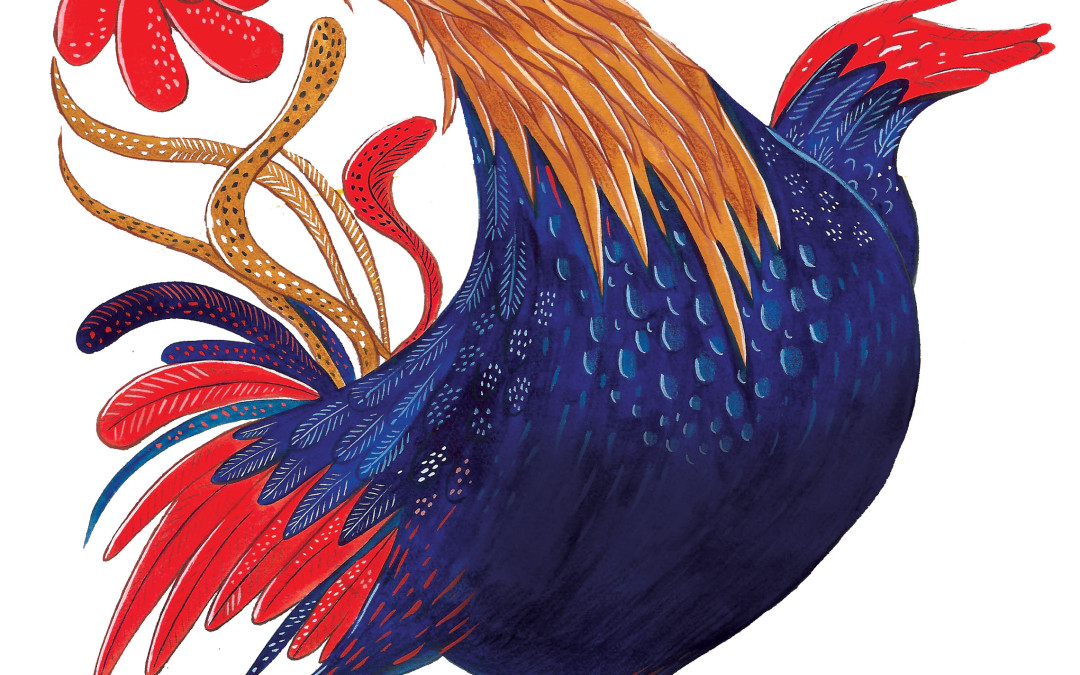 Rooster Raga crows at Young India books